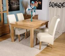 Oak Rectangle Kitchen & Dining Tables with Extending