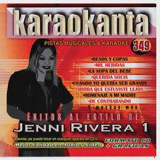 Jenny Rivera Karaoke CD+g Karaokanta Pistas Musicales,Querida Socia,Mil Heridas+