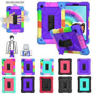 Hand Shoulder Strap Rotated Cover For Lenovo Tab M10 FHD Plus 2nd Gen TB-X606F/X