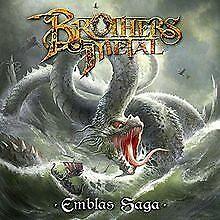Emblas Saga (Digipak) von Brothers of Metal | CD | Zustand sehr gut