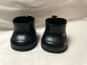 """Build a Bear Shoes 3"""" Tall w/ Hook Loop Back Black Color and Hang Tags Clothing"""