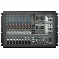 Behringer Europower PMP1680S 1600W Powered Mixer w/ FX Processor 12-Channel 2DAY
