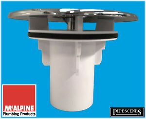 Mcalpine ST90CPTOP+TUBE Replacement Shower Trap Cover FOR Waste Trap