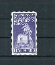 Italia 1988 9° Centenario fondazione Università di Bologna  MNH