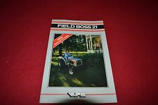 Oliver White 21 Field Boss Tractor Dealer's Brochure DADS