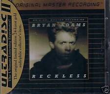 Adams, Bryan Reckless MFSL Gold CD Neu OVP Sealed UD544