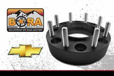 "Chevrolet 8x6.5 (2) 1.75"" Wheel Spacers (2) by BORA Off Road - Made in the USA"