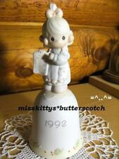 Precious Moments~Bell~Dated 1992~527726~But The Greatest Of These Is Love~clef