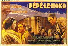Pépé le Moko Jean Gabin 1937 French movie poster print