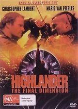 Highlander 3 The Final Dimension (1994) Christopher Lambert NEW SEALED UK R2 DVD
