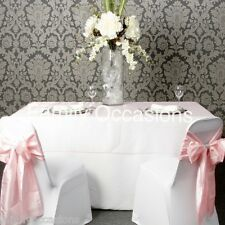 ORGANZA TABLE CLOTHS, ORGANZA OVERLAY, 90INCH X 90INCH, 229CMX229CM MANY COLOURS
