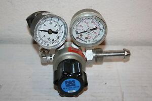 Matheson Model 3503 Gas Delivery Pressure Regulator w/Gauges- 3000 PSI Inlet