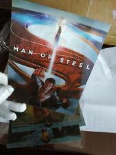 MAN OF STEEL - Multi Image Lenticular 3D Flip Magnet Cover FOR bluray steelbook