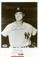 Johnny Sain Yankees Signed 8X10 Photo - PSA DNA