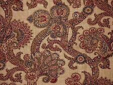 Waverly HIDDEN TREASURE GEM Paisley Old World Charm Home Decor Drapery Fabric