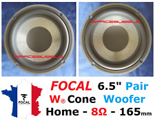 "FOCAL JMlab Pair WOOFER 6W4257B 6.5"" 165mm HOME AUDIO PROFILE ELECTRA UTOPIA DIY"
