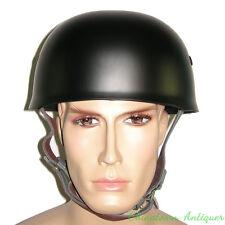 WW2 German M38 Steel Helmet Best Replica Militaria Germany Helmets Black #3893