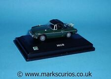 Cararama 1:72 - MGB - Closed Top - Dark Green