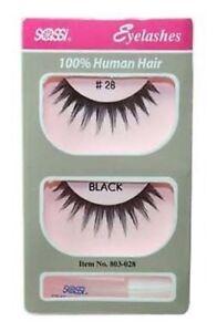 Sassi False Eyelashes 100% Human Hair #28- Free Shipping-Discontinued Styles