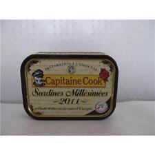 Sardinen in Olivenöl, Jahrgang 2011, Frankreich (Jahrgangs-Ölsardinen), 115g
