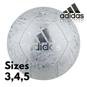 adidas Football Size 3,4,5 Ball Capitano Training Team Balls Soccer White NEW