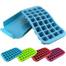 Large Silicone Flexible Ice Cube Tray - 32 Slot Easy Release Maker Freeze Mould