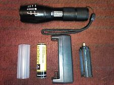 T700 Tactical Led  Zoom Flashlight.Military Technology, Super Bright.