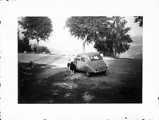 PHOTO AUTOMOBILE CITROEN 2 CV 1961 ?