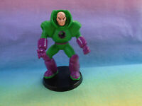 DC Comics Miniature Superman Lex Luthor Plastic Figure on Base