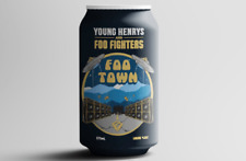 Foo Fighters Foo Town Beer Can Young Henrys Excellent Condition
