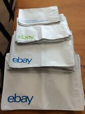 20 eBay Branded Poly Mailers Starter Pack 4 Sizes 5 Bags Each FREE SHIPPING
