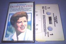 PATSY CLINE ALWAYS cassette tape album T6234