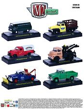 M2 Machines 1:64 Auto-Trucks Release 36 Assortment In Acrylic Cases Set Of 6