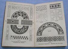 1903 Geometrisches Zeichnen von H. Becker - Sammlung Göschen