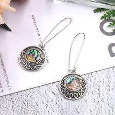Fashion Shell Round Circle Geometric Drop Dangle Earrings Women Jewelry CB