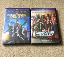 Guardians of the Galaxy Volume 1 and Volume 2 DVD Bundle