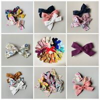 """Details about  /Friends handmade  Pigtails Bows 3.5/"""" wide"""