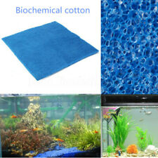 45cm Biochemical Filters Foam Pump Sponge Pad Aquarium Fish Tank Pond Blue  UK