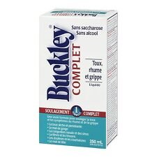 Buckley's Original Complete Cough Cold and Flu Syrup, Large 250 ml