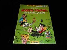 Walli & Bom : Modeste et Pompon 2 : Ah! ça rira, ça rira! EO Le Lombard 1986