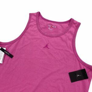 Jordan Men's Sleeveless Tank Top Shirt Loose Fit Cotton Washed Pink CJ6228-623