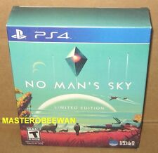 PS4 No Man's Sky Limited Edition New Sealed + Exclusive DLCs PlayStation 4