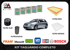 Kit tagliando Fiat Stilo 1.9 Jtd 59kw 80cv dal 02/02 - 11/06 5lt Selenia WR 5W40