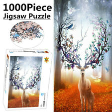 Elk Adult Kids Jigsaw Puzzle Decor Wall Mural Educational Toys Game 1000Piece