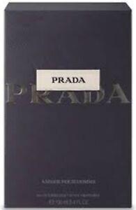 Prada Amber Pour Homme By PARDA 100ml EDT Spray Men's Perfume NEW SEALED BOX