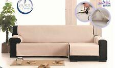 Funda de sofa chaise longue sillon de 1,2,3,4 plazas impermeable en color gris
