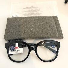 Peepers Black Catalina Reading Glasses +1.00 Blue Light