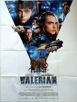 Affiche cinéma  VALERIAN  LUC BESSON   120x 160 cm