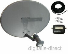Sky Satellite Dish,Quad LNB,Signal Finder,Twin Cable Freesat HD Sky Plus HD