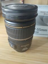 Canon EF-S 17-55mm F2.8 Zoom. solo af IS USM gorras, Capucha.